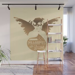 ... And a Peaceful New Year! Wall Mural