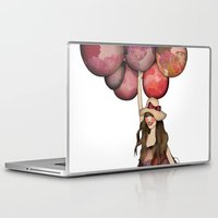 ballon Laptop & iPad Skins featuring Le Ballon // Birthday IV by annabours