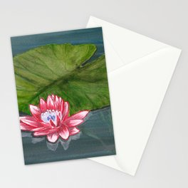 Water Lilies 1 Stationery Cards