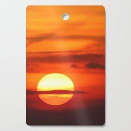 Sunset at Devil's Dyke (UK) Cutting Board