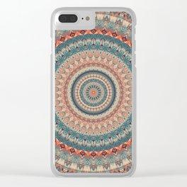 Mandala 559 Clear iPhone Case