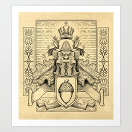 Knighthood of the Oak Art Print
