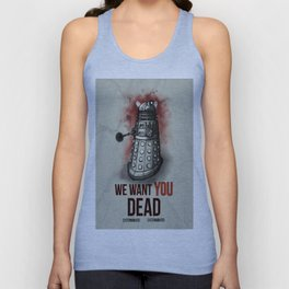 We Want You (No Border) Unisex Tank Top