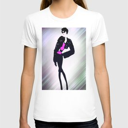 A Star In The Limelight Illustration By James Thomas Ryan T-shirt