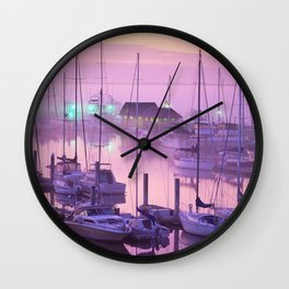 Ashley Marina Mist Wall Clock