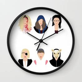 Orphan Black - Clone Club V2 Wall Clock