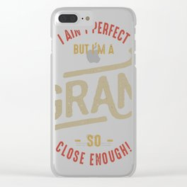 Perfect-Gram-1 Clear iPhone Case