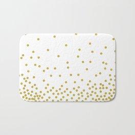 Golden Confetti Bath Mat