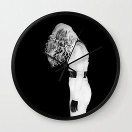 Under my skin Wall Clock