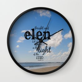 Elen Wall Clock