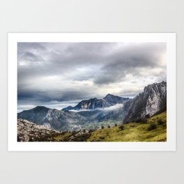 The Picos de Europa Art Print