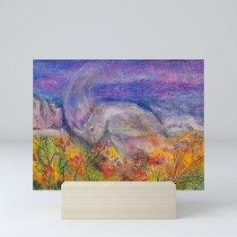Rhino Wave Mini Art Print