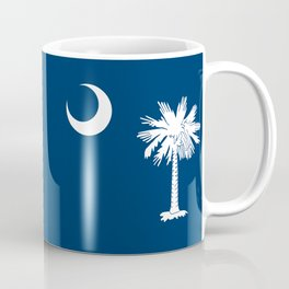 State flag of South Carolina - Authentic version Coffee Mug