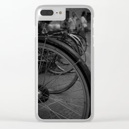 Wheels Clear iPhone Case