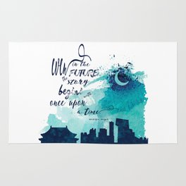 The Lunar Chronicles Quote Rug