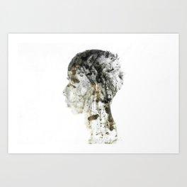 Silence2 Art Print