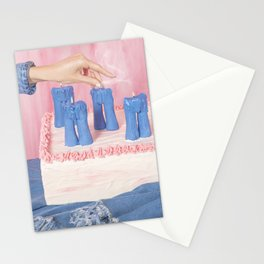 Liar Liar Pants on Fire Stationery Cards