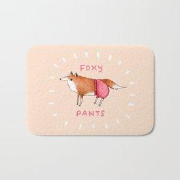 Foxy Pants Bath Mat