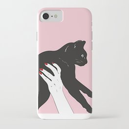 Then and Meow iPhone Case