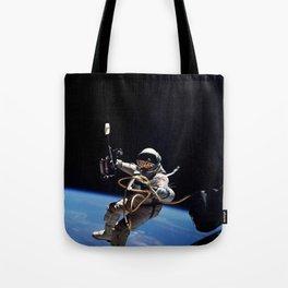 Astronaut : First American Spacewalk 1965 Tote Bag