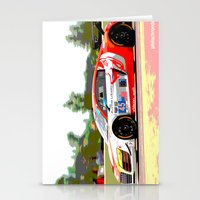 audi Stationery Cards featuring Flying Lizard Audi R8 | Road America by Phil Schroeder Design