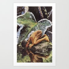 Reflective Frames Art Print