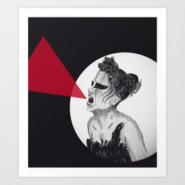 Black Swan IV Art Print