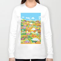 the neighbourhood Long Sleeve T-shirts featuring Neighbourhood by James Thornton