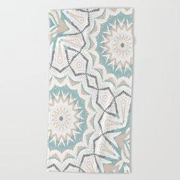 Planthouse Aztec Stone & Blue Beach Towel