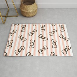 Cute Pattern for Baby Girl Rug
