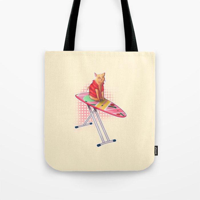Hoverboard Cat Tote Bag