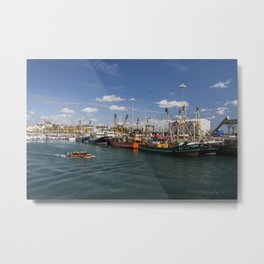 Fishing fleet Kilmore Quay Wexford Metal Print