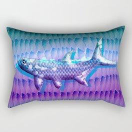 Tarpon Camo Rectangular Pillow