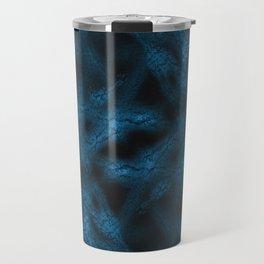Blue fantasy pattern Travel Mug