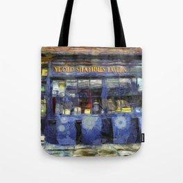 Ye Old Shambles Tavern York Art Tote Bag