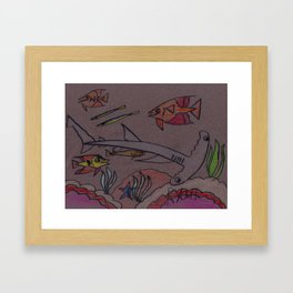 Hammerhead Bay Framed Art Print