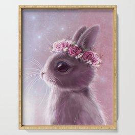 Fairy bunny Serving Tray