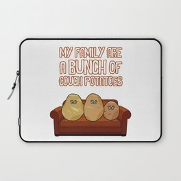 Couch Potatoes Laptop Sleeve