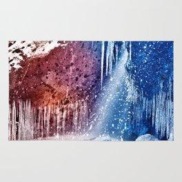 Acrylic Winter Stream Rug