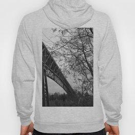 Eiffel. The mystery train bridge. BW Hoody