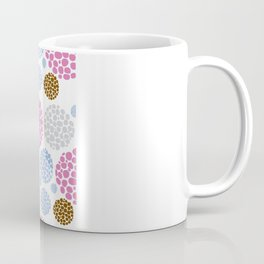 Stone Age Print- pink Coffee Mug