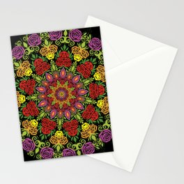 Rose Mandala II Stationery Cards