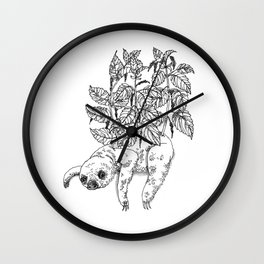Everything must grow II Wall Clock