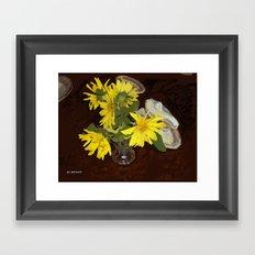 Margaritas Framed Art Print