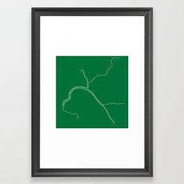 San Francisco BART Framed Art Print