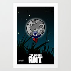 The Amazing Ant #1 Art Print