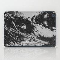 sword iPad Cases featuring dragon sword by barmalisiRTB
