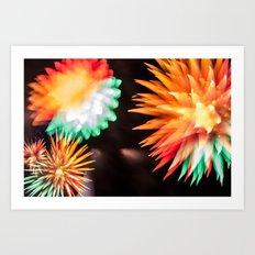 Fireworks - Philippines 6 Art Print