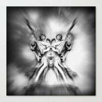 angels Canvas Prints featuring Angels by haroulita