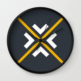 Nautical arrows Wall Clock